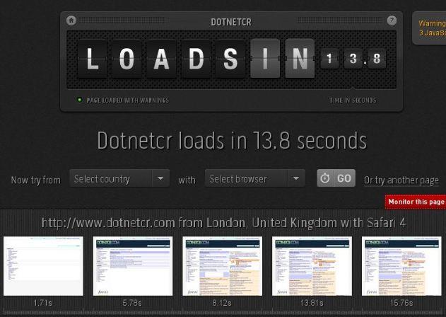 Mide la velocidad de tu sitio web