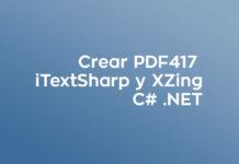 C# - PDF417